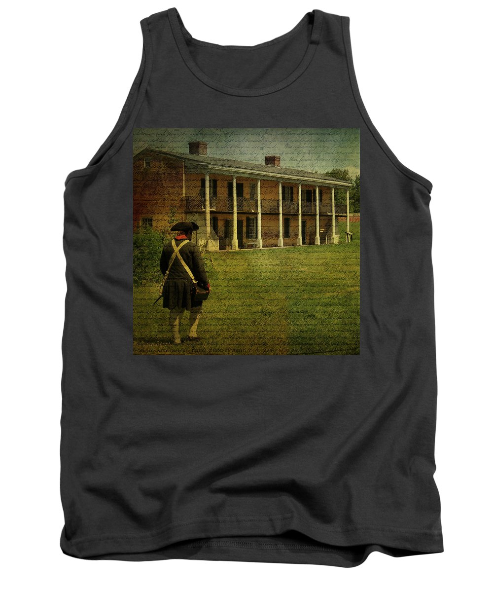 Soldier Tank Top featuring the photograph Haunting by Trish Tritz