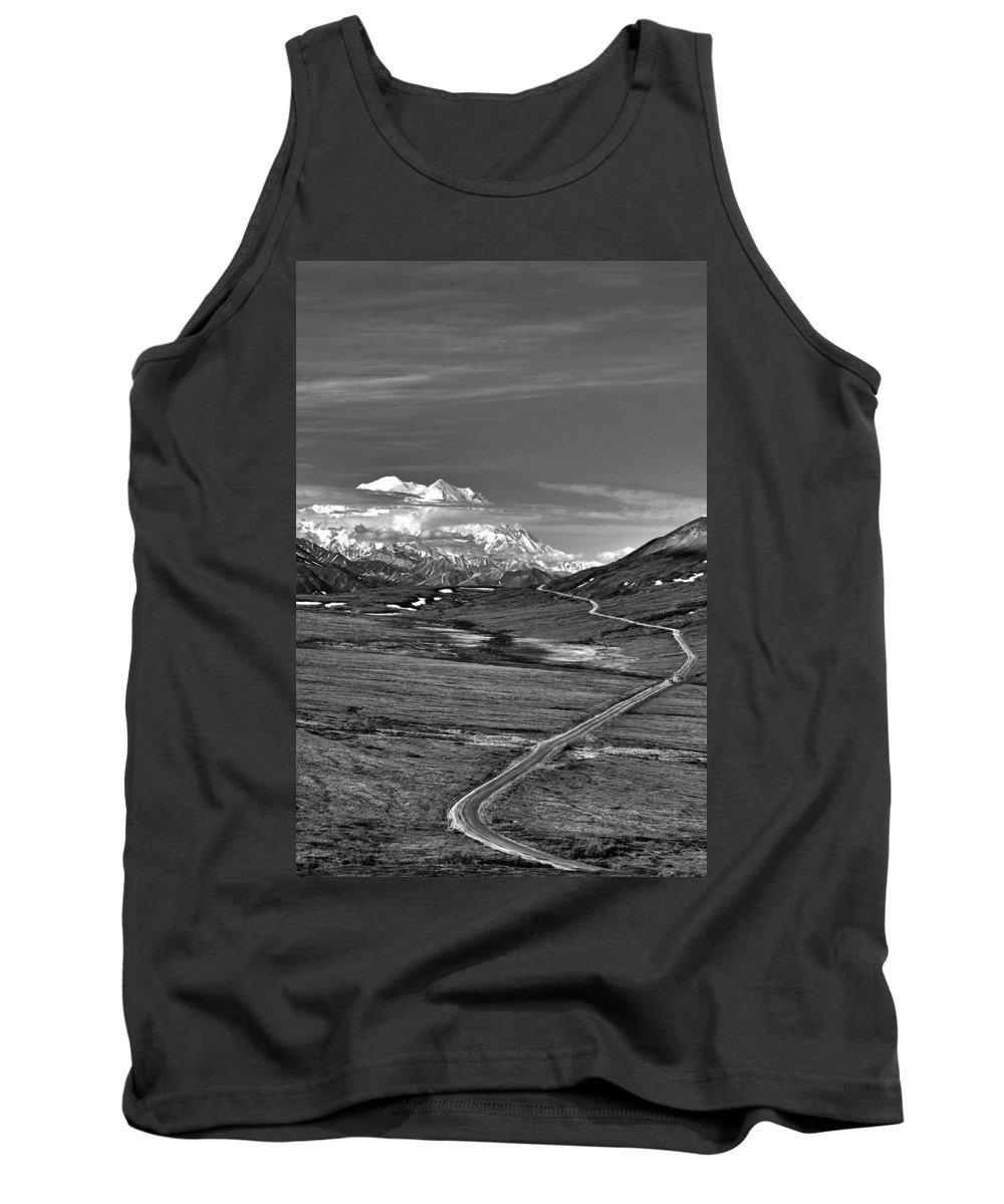 Headed To Mckinley Tank Top featuring the photograph Headed To Mckinley by Wes and Dotty Weber