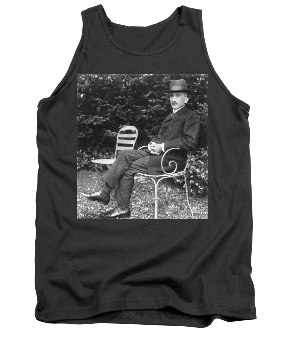 1905 Tank Top featuring the photograph Henri Bergson (1859-1941) by Granger
