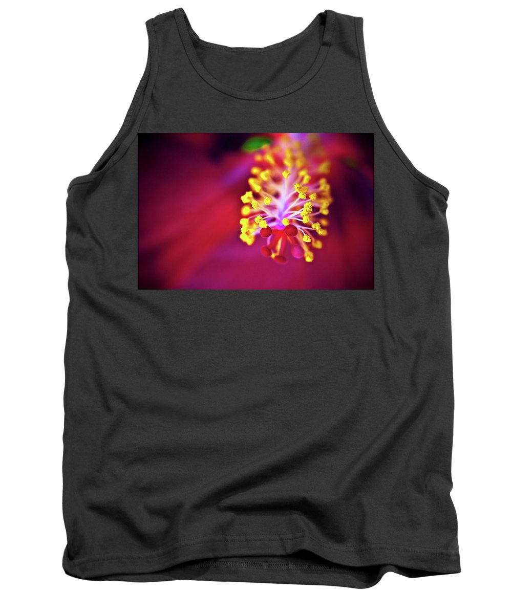 Flower Petals Tank Top featuring the photograph Hibiscus by Sarah Wiggins