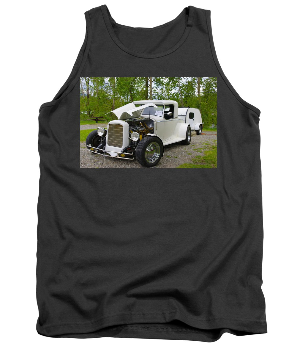 Hot Rod Tank Top featuring the photograph Hot Rod by John Greaves