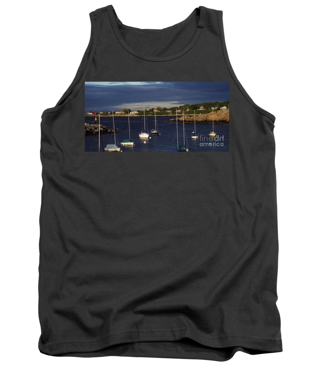 Rockkport Tank Top featuring the photograph In For The Night by Michelle Welles
