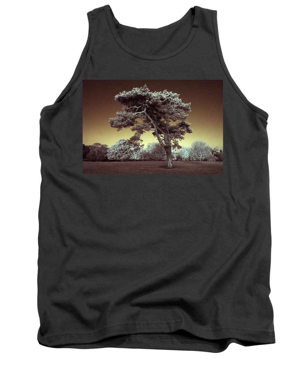 Tree Tank Top featuring the photograph Infrared Tree by Andy Linden
