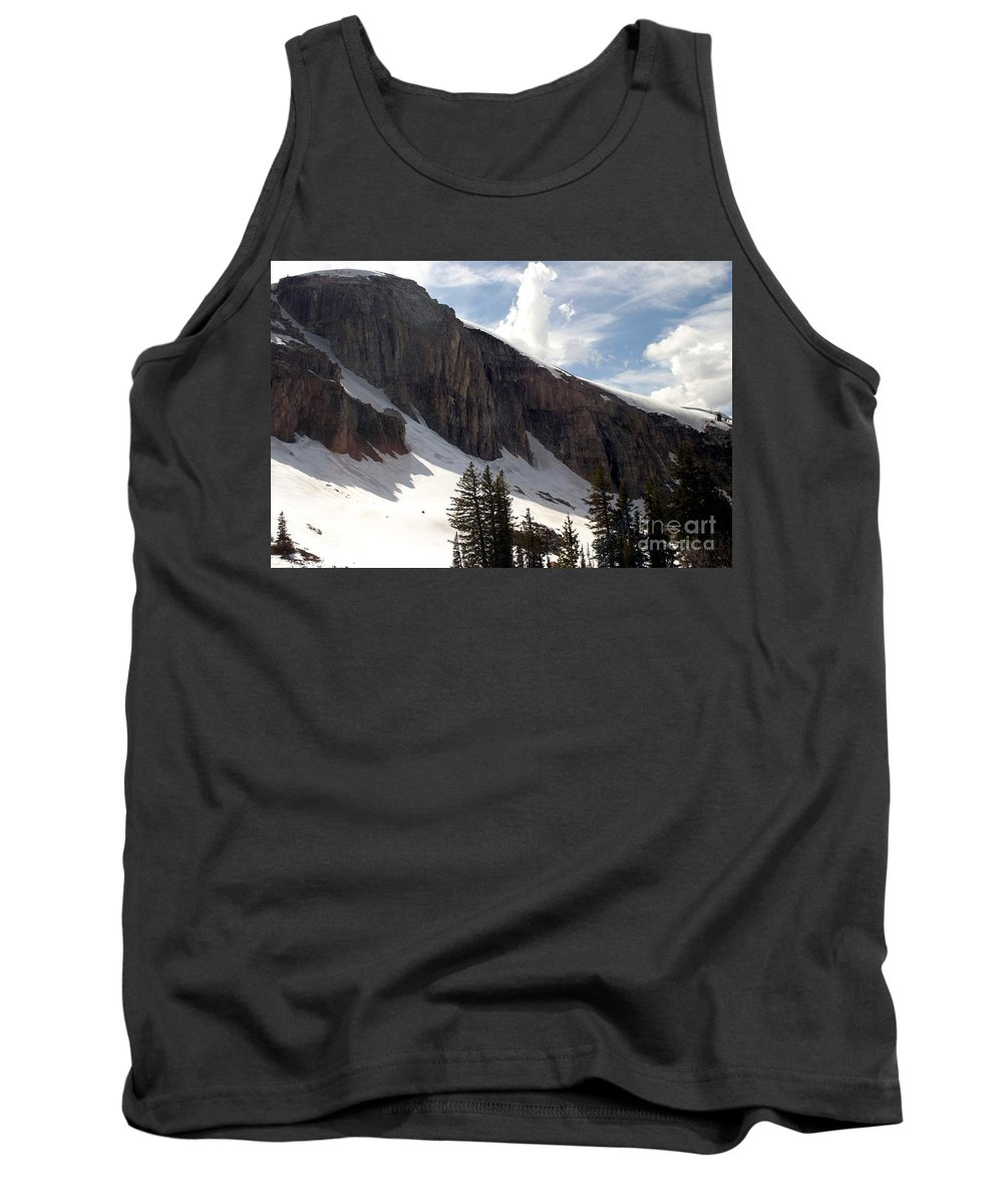 Rendezvous Mountain Tank Top featuring the photograph Inhaling Clouds by Living Color Photography Lorraine Lynch