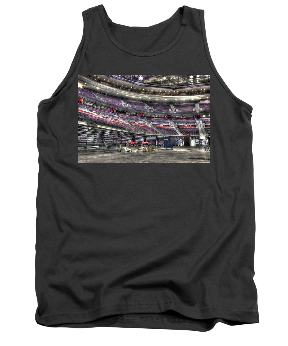 Tank Top featuring the photograph Inside The Palace Of Auburn Hills Mi by Nicholas Grunas