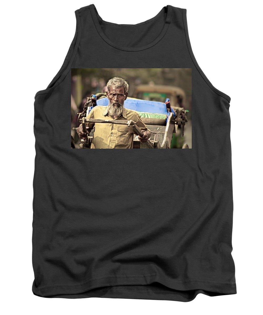 Men Tank Top featuring the photograph Intense by Valerie Rosen