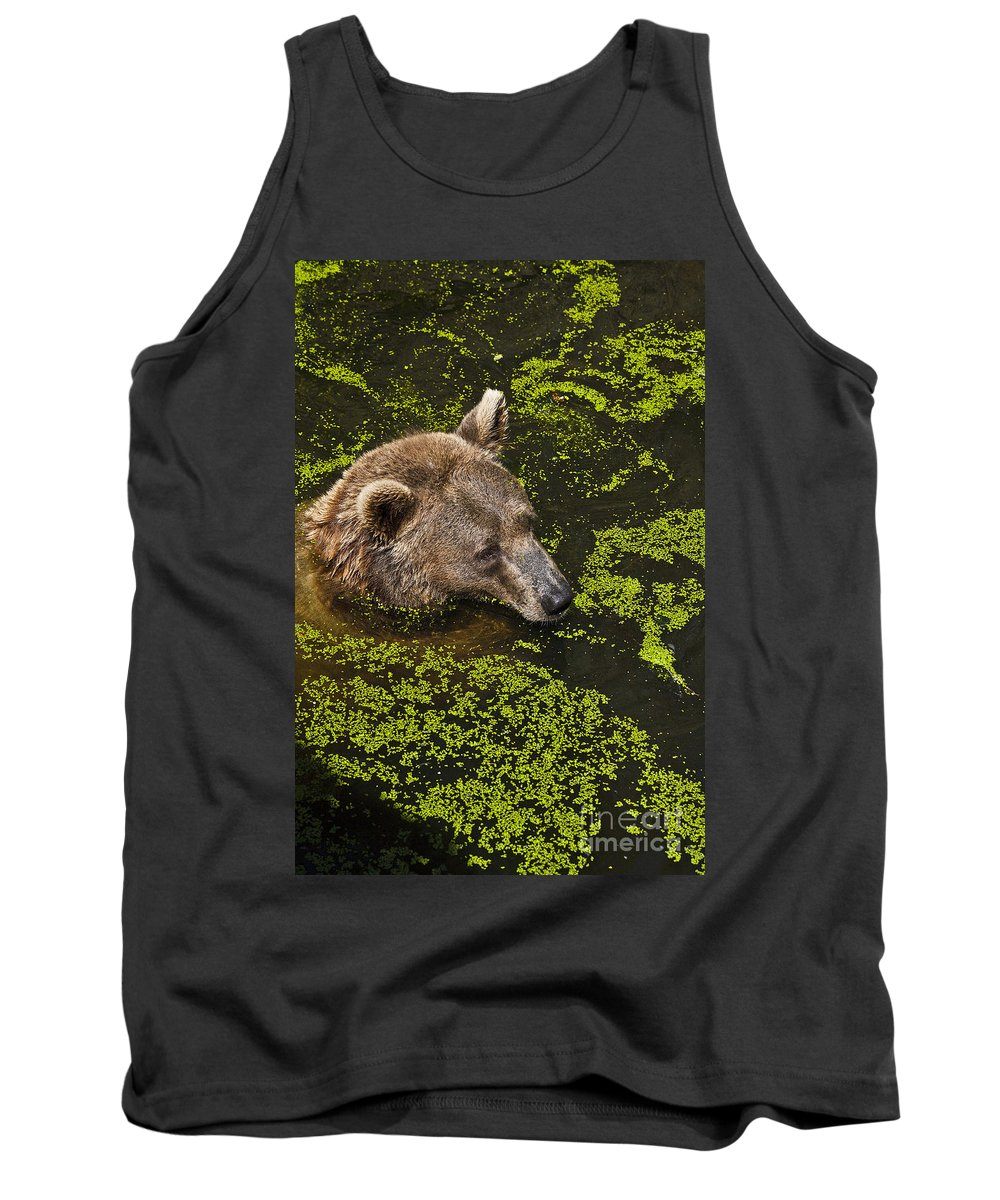 Nature Tank Top featuring the photograph It's Cool In Here by Heiko Koehrer-Wagner