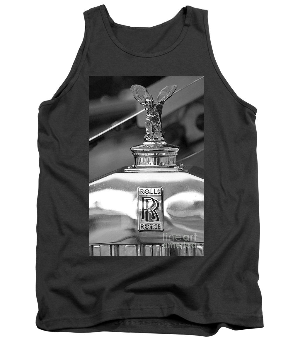 Rolls Royce Tank Top featuring the photograph It's Only Money by Living Color Photography Lorraine Lynch