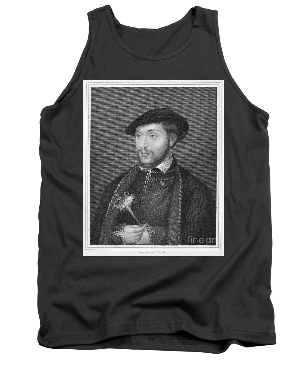 16th Century Tank Top featuring the photograph John Dudley (1502?-1553) by Granger