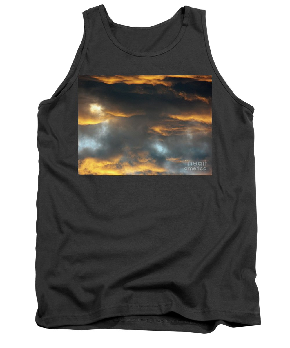 Sky Tank Top featuring the photograph Just A Touch Of Heaven by Brian Commerford