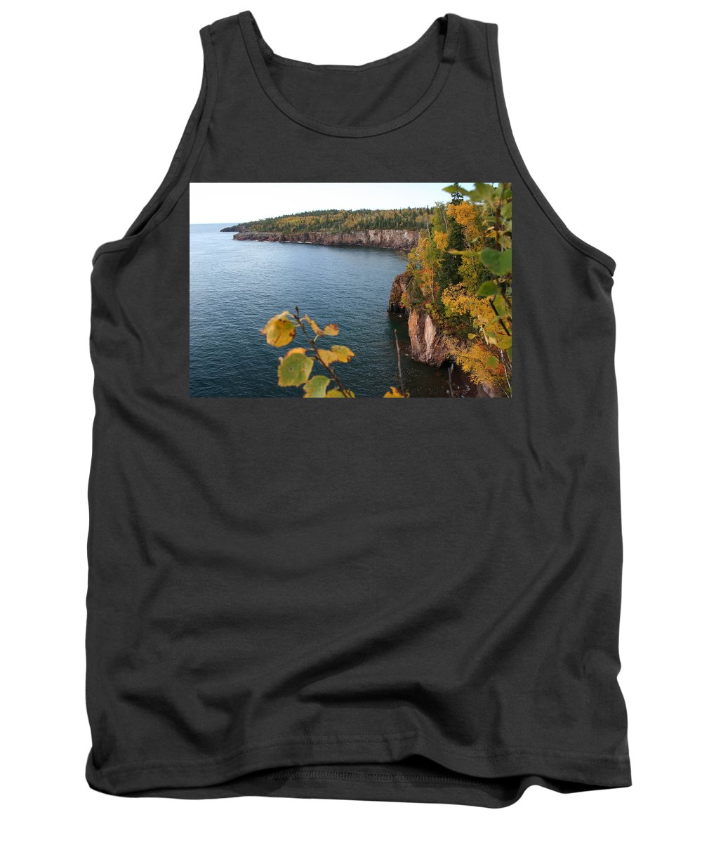 Tank Top featuring the photograph Lake Superior Winter by Joi Electa