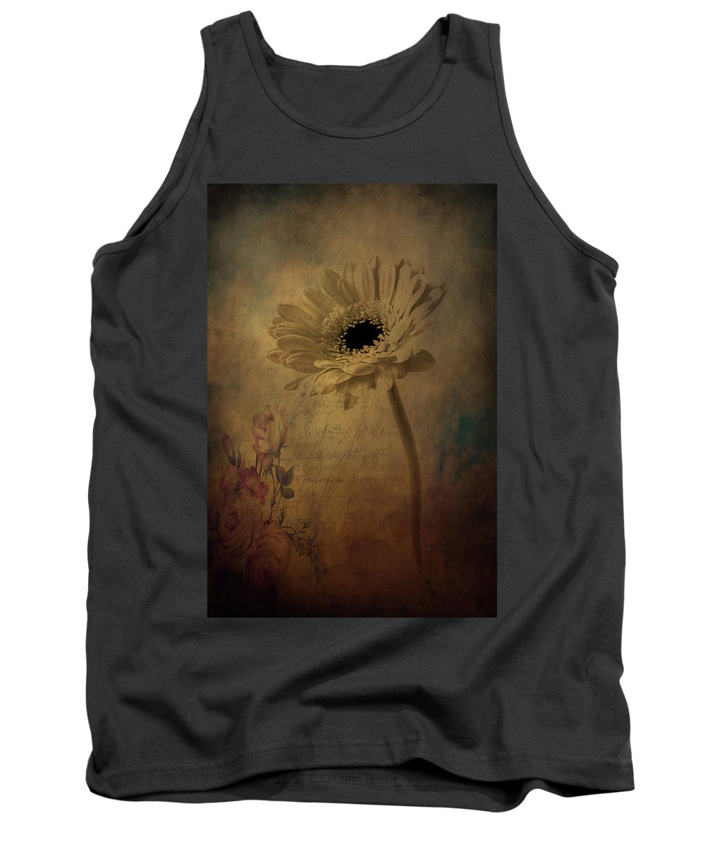 Flowers Tank Top featuring the photograph Letters To Rose by The Artist Project