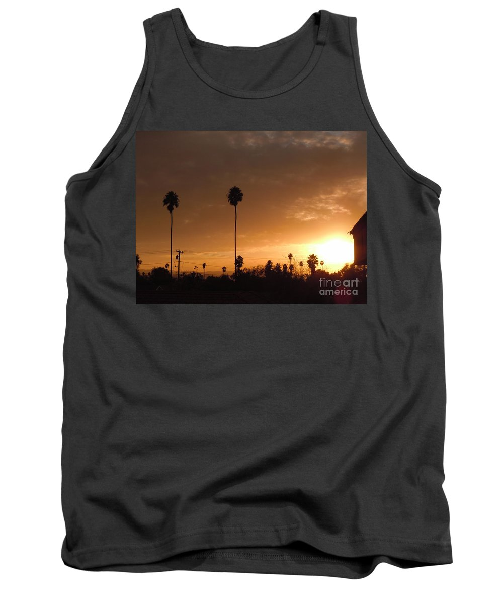 Sun Set Tank Top featuring the photograph Life Source... by Customikes Fun Photography and Film Aka K Mikael Wallin