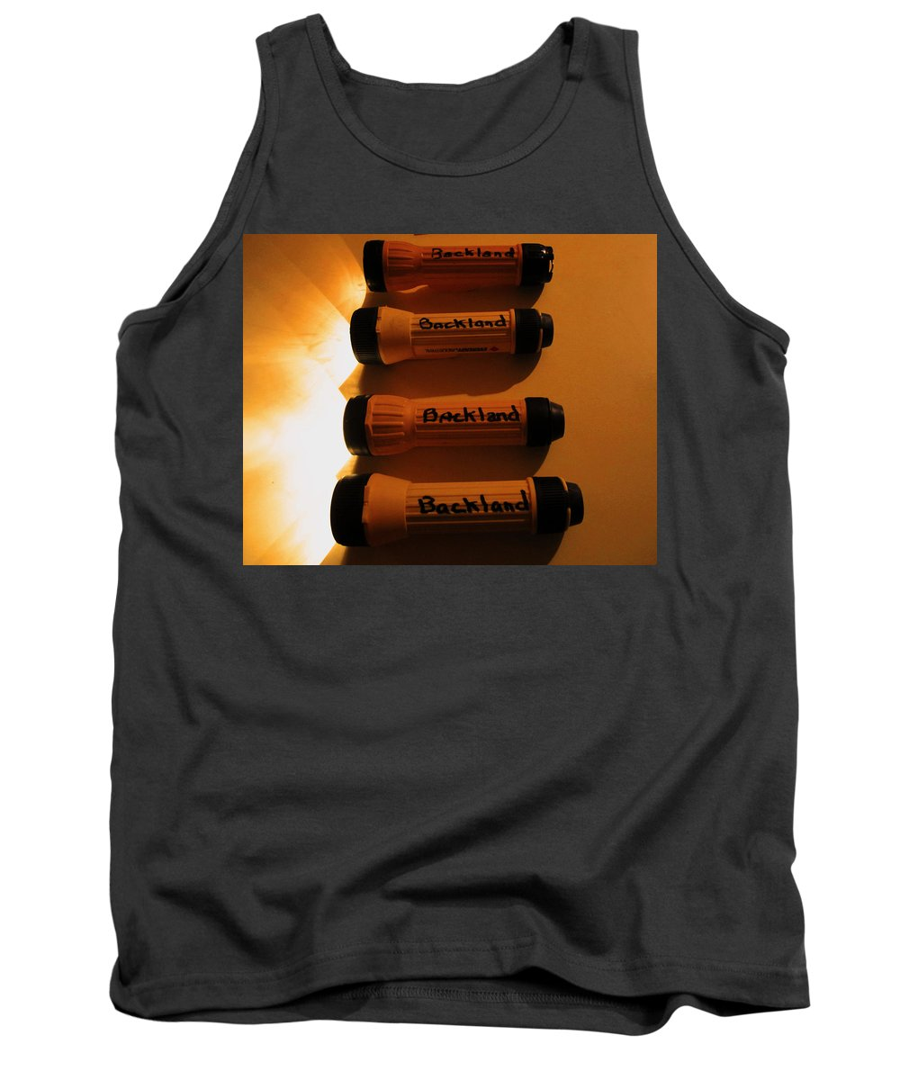Flashlights Tank Top featuring the photograph Light Of My Life by Kym Backland