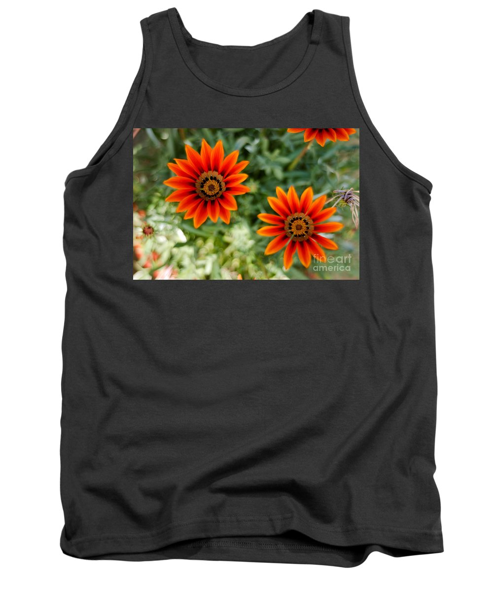 Flower Tank Top featuring the photograph Looking Alike by Syed Aqueel
