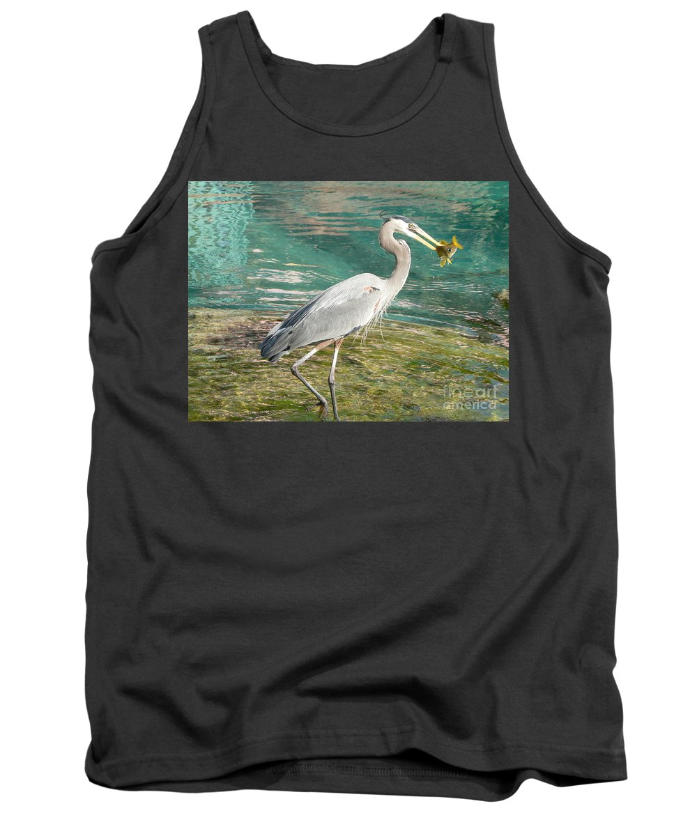 Great Tank Top featuring the photograph Lunchtime by Laurel Best