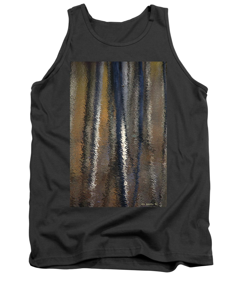 Lusk Pond Ii Tank Top featuring the photograph Lusk Pond II by Edward Smith