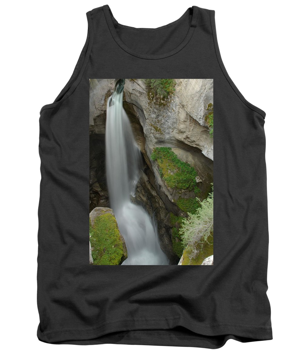 Maligne Canyon Tank Top featuring the photograph Maligne Canyon 2 by Robert Caddy
