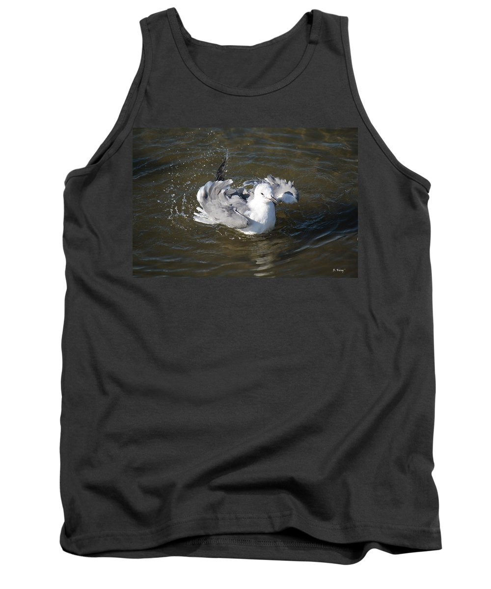 Roena King Tank Top featuring the photograph Man This Feels Good by Roena King