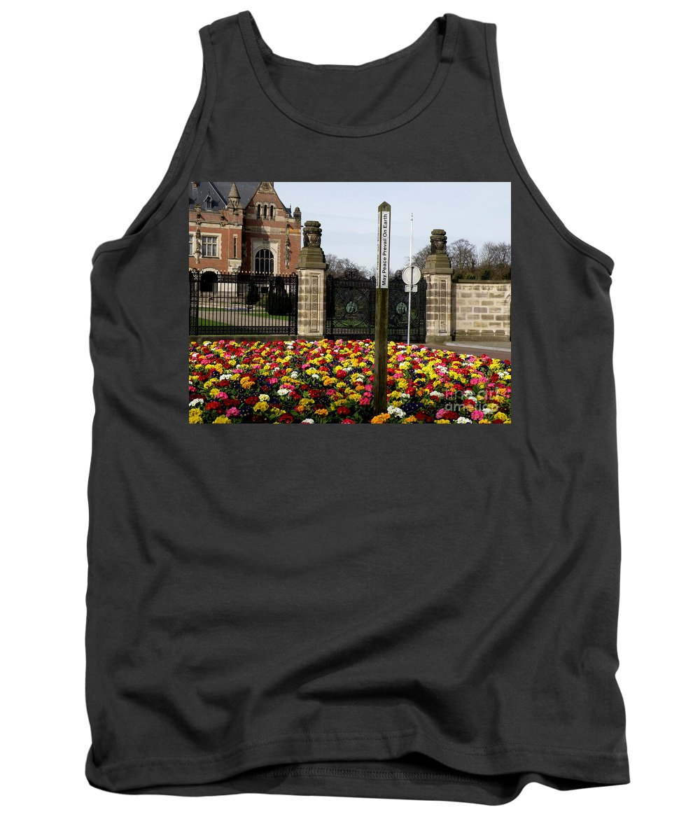 Peace Tank Top featuring the photograph May Peace Prevail On Earth by Lainie Wrightson