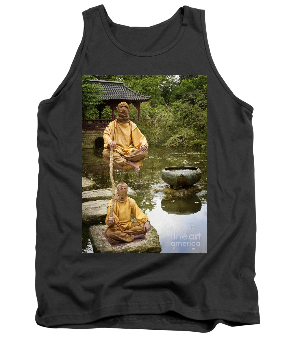 Heiko Tank Top featuring the photograph Mirage by Heiko Koehrer-Wagner