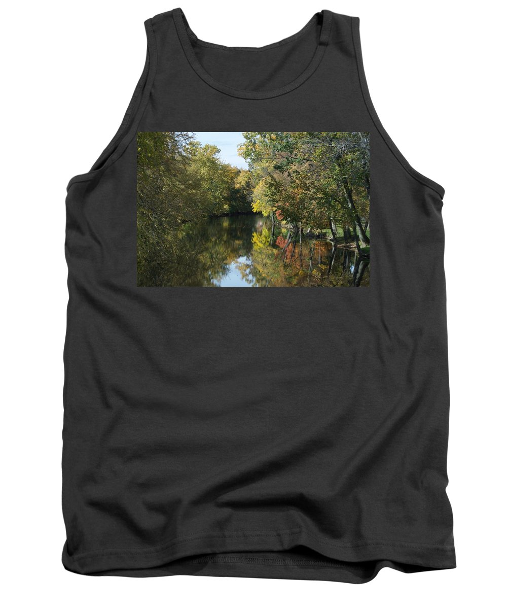 Fall Tank Top featuring the photograph Mirrors by Joseph Yarbrough