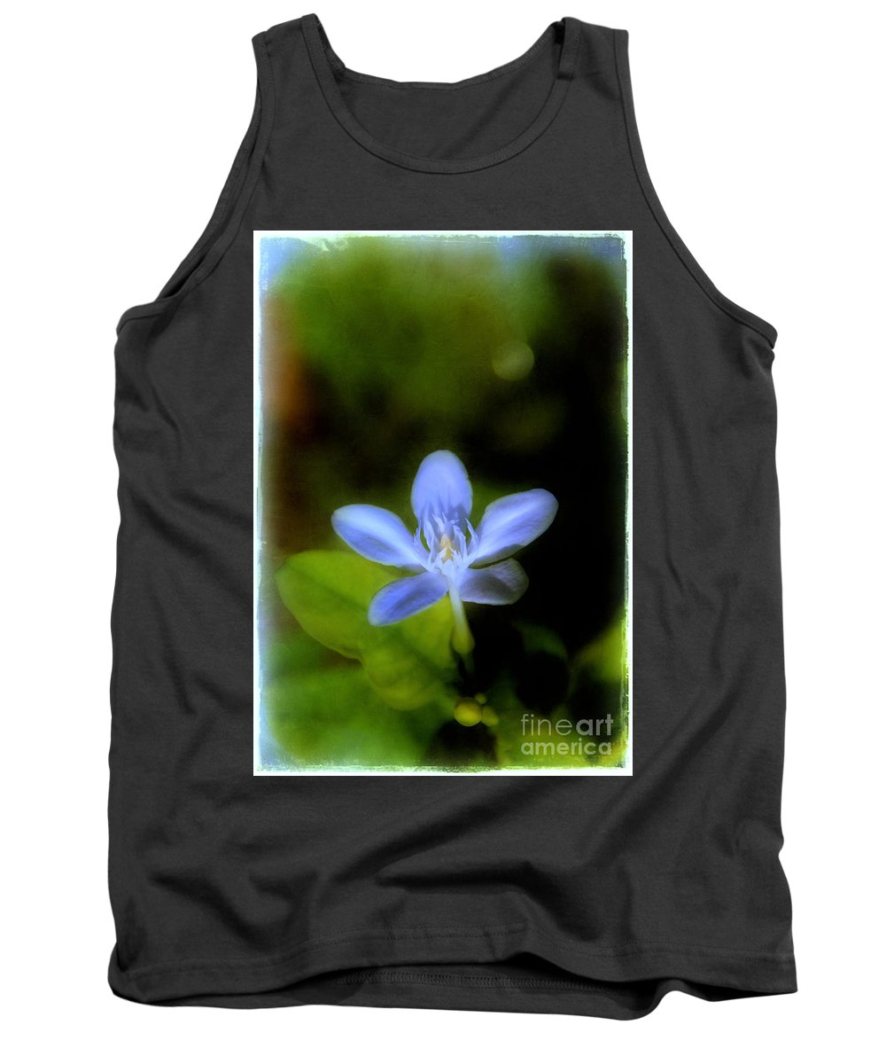 Moon Tank Top featuring the photograph Moon Flower by Judi Bagwell