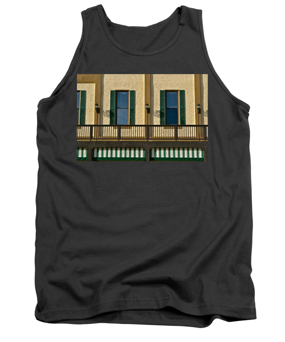 Bar Photographs Tank Top featuring the photograph Morning Above The Bar by Bill Owen