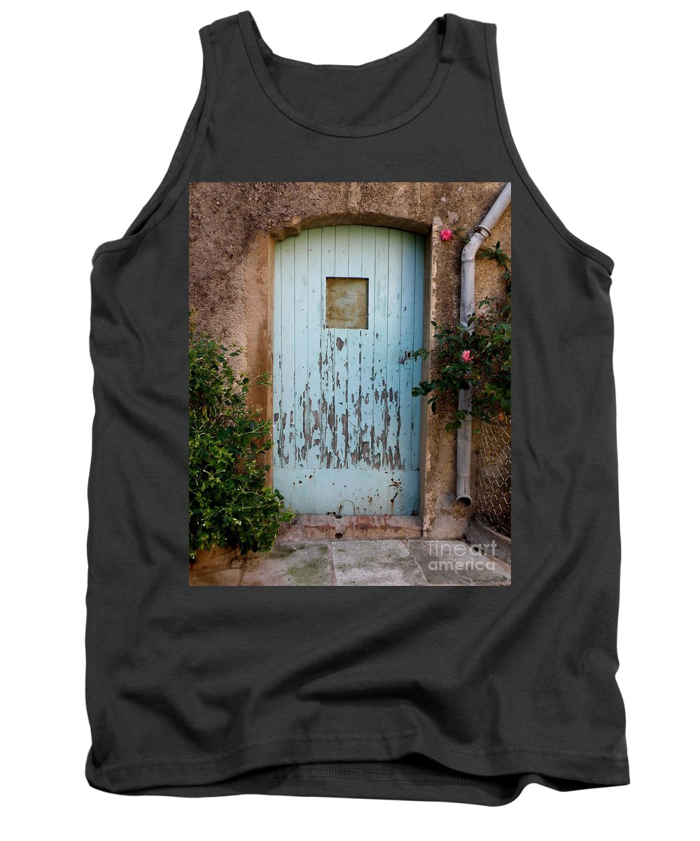 Door Tank Top featuring the photograph Mouse Door by Lainie Wrightson