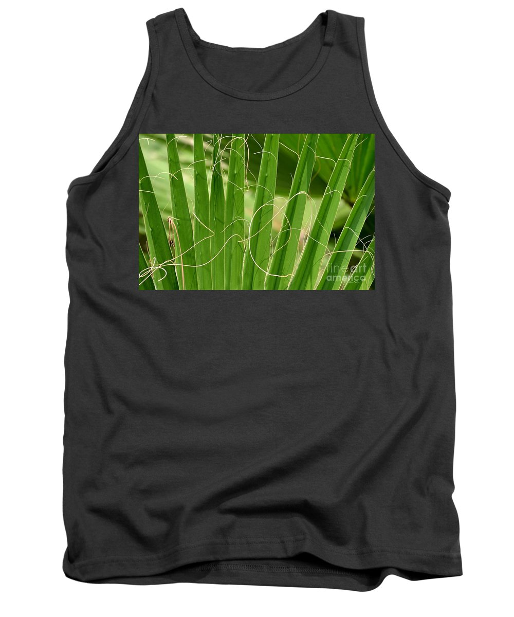 Natural Tank Top featuring the photograph Natural Abstract 12 by Maria Urso