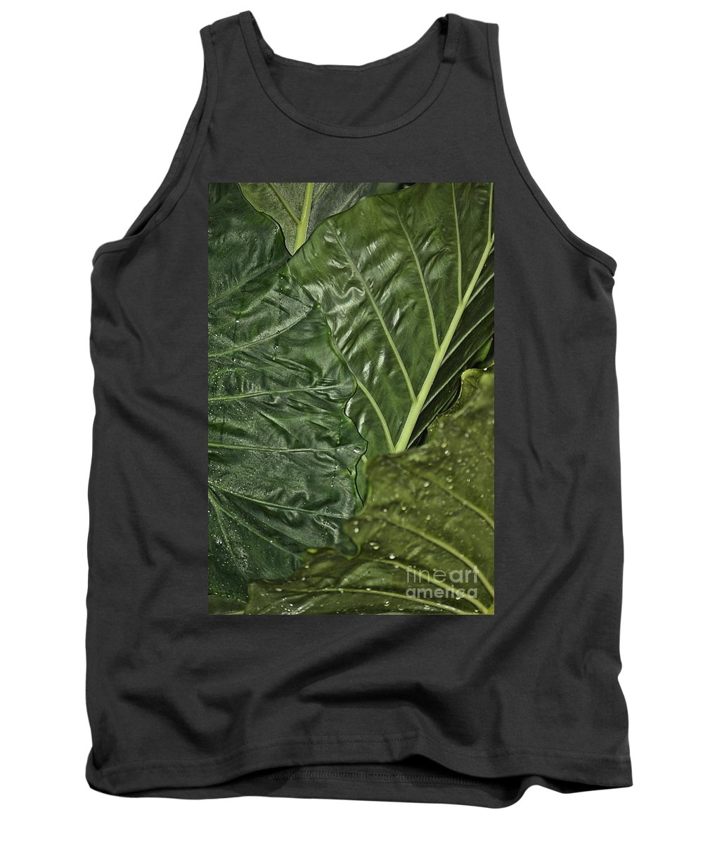 Natural Tank Top featuring the photograph Natural Abstract 39 by Maria Urso