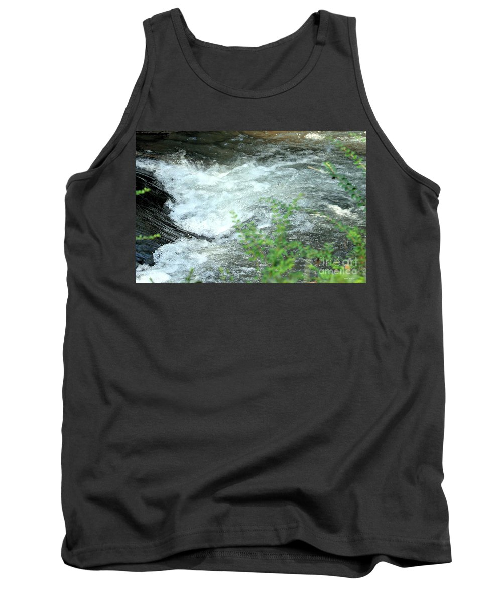 Nature Tank Top featuring the photograph Nature's Vortex by Maria Urso