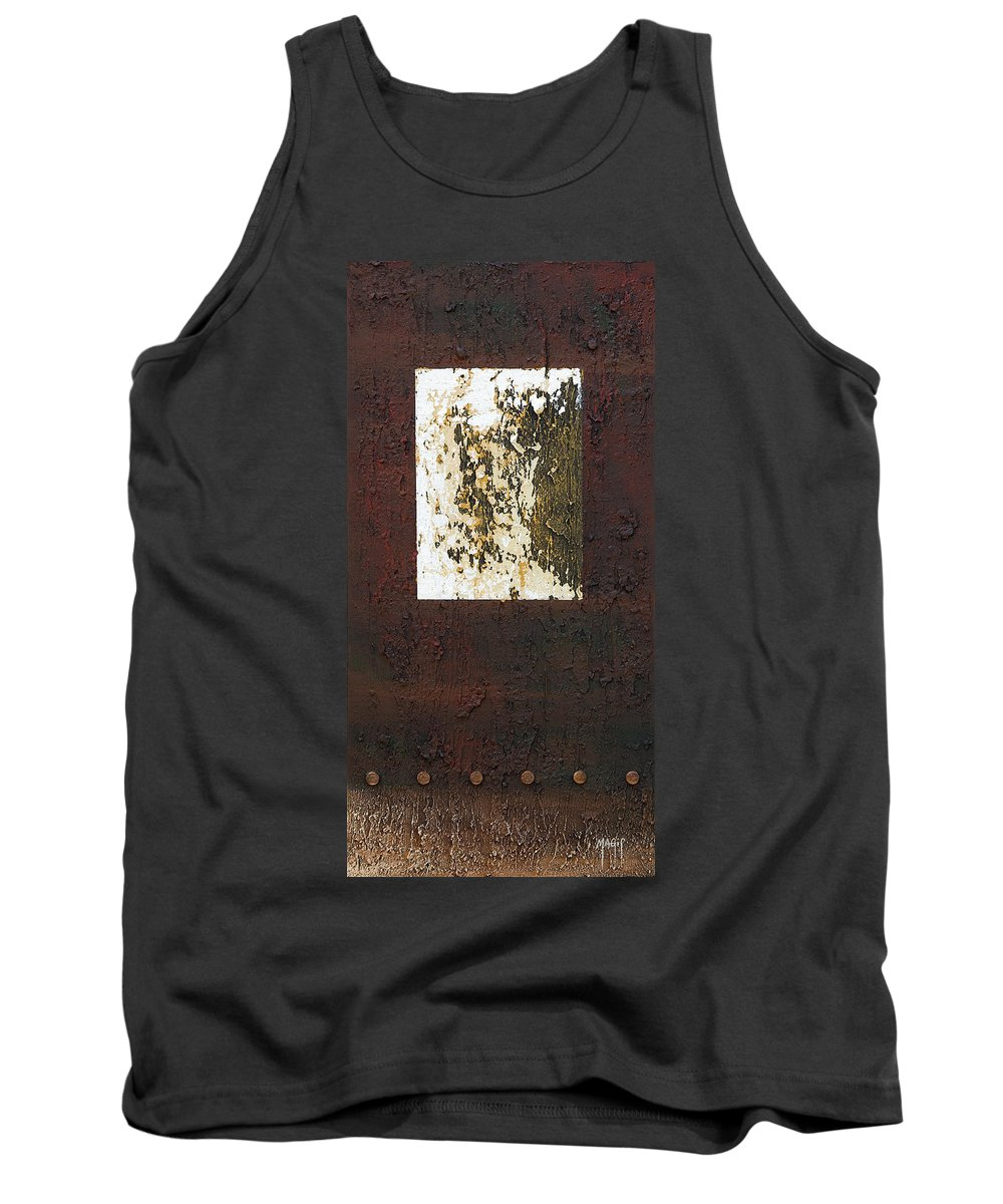 Art Tank Top featuring the painting Not Square by Mauro Celotti