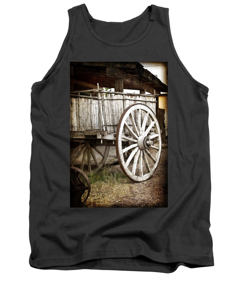 Tombstone Tank Top featuring the photograph Old West by Jay Hooker