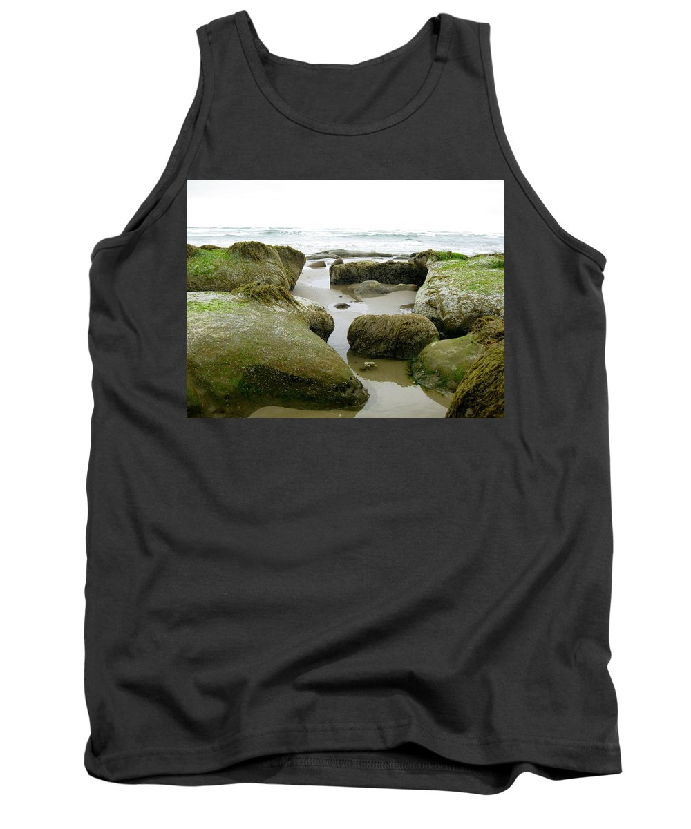Ona Tank Top featuring the photograph Ona Beach by Linda Hutchins
