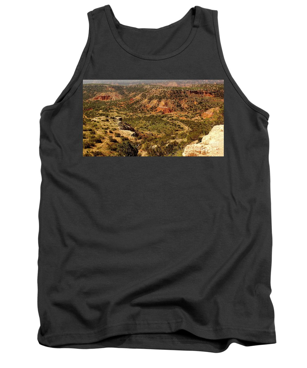 State Park Tank Top featuring the photograph Palo Duro Canyon Texas by Robert Frederick