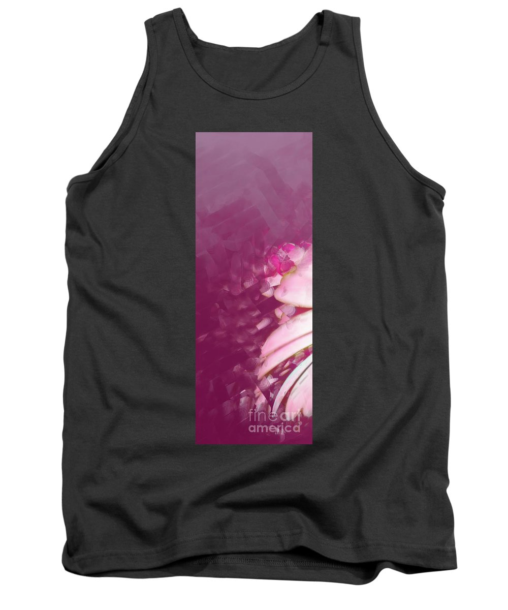 Triptych Tank Top featuring the photograph Passion Triptych 1 by Betty LaRue