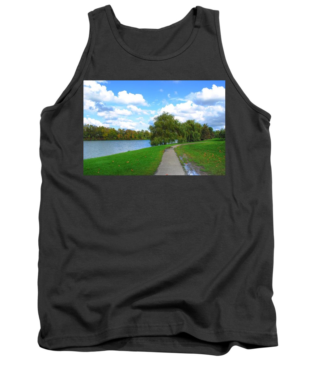 Tank Top featuring the photograph Path by Michael Frank Jr