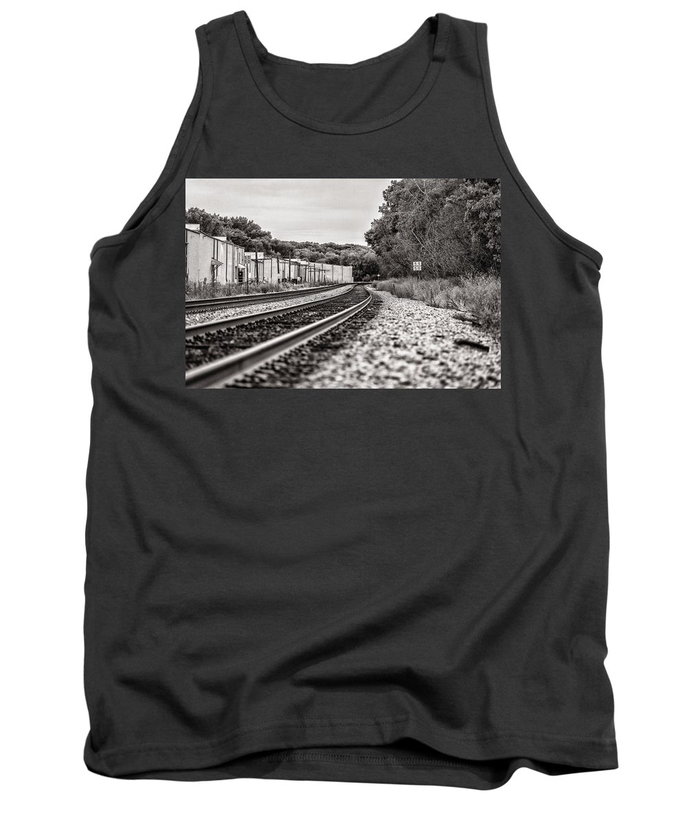 Cj Schmit Tank Top featuring the photograph Path Of Indifference by CJ Schmit