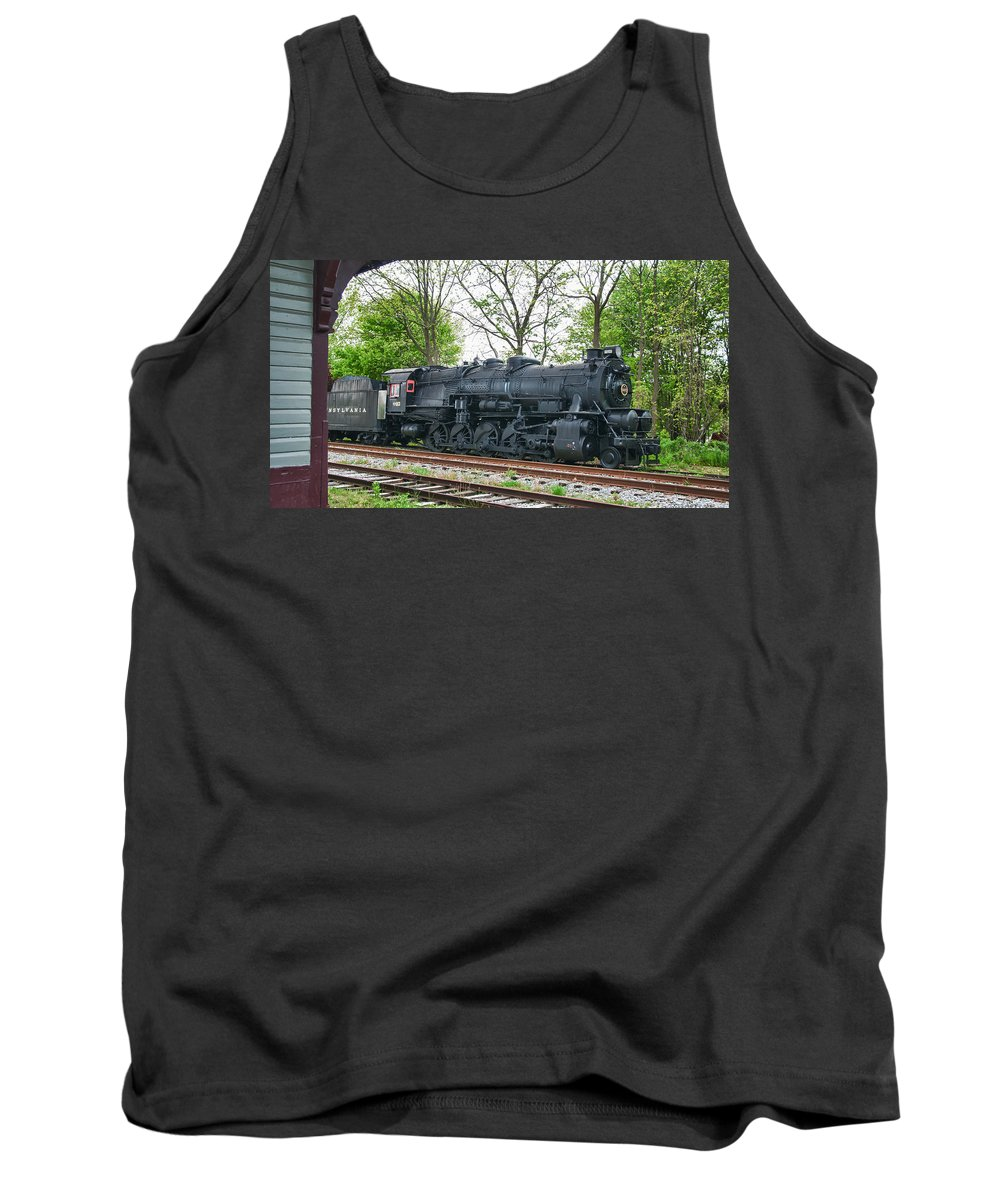 Guy Whiteley Photography Tank Top featuring the photograph Pennsy 4483 by Guy Whiteley