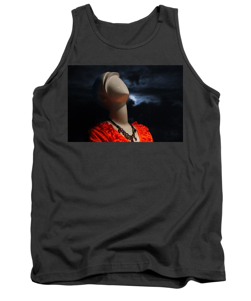Xdop Tank Top featuring the photograph Perfect Model by John Herzog