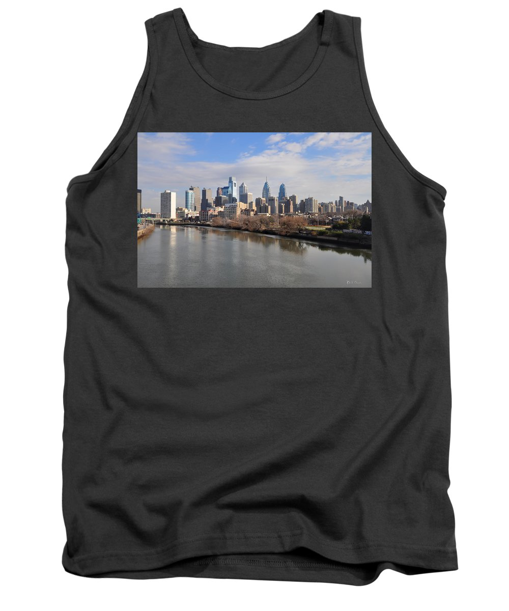Philadelphia Tank Top featuring the photograph Philadelphia Cityscape by Bill Cannon