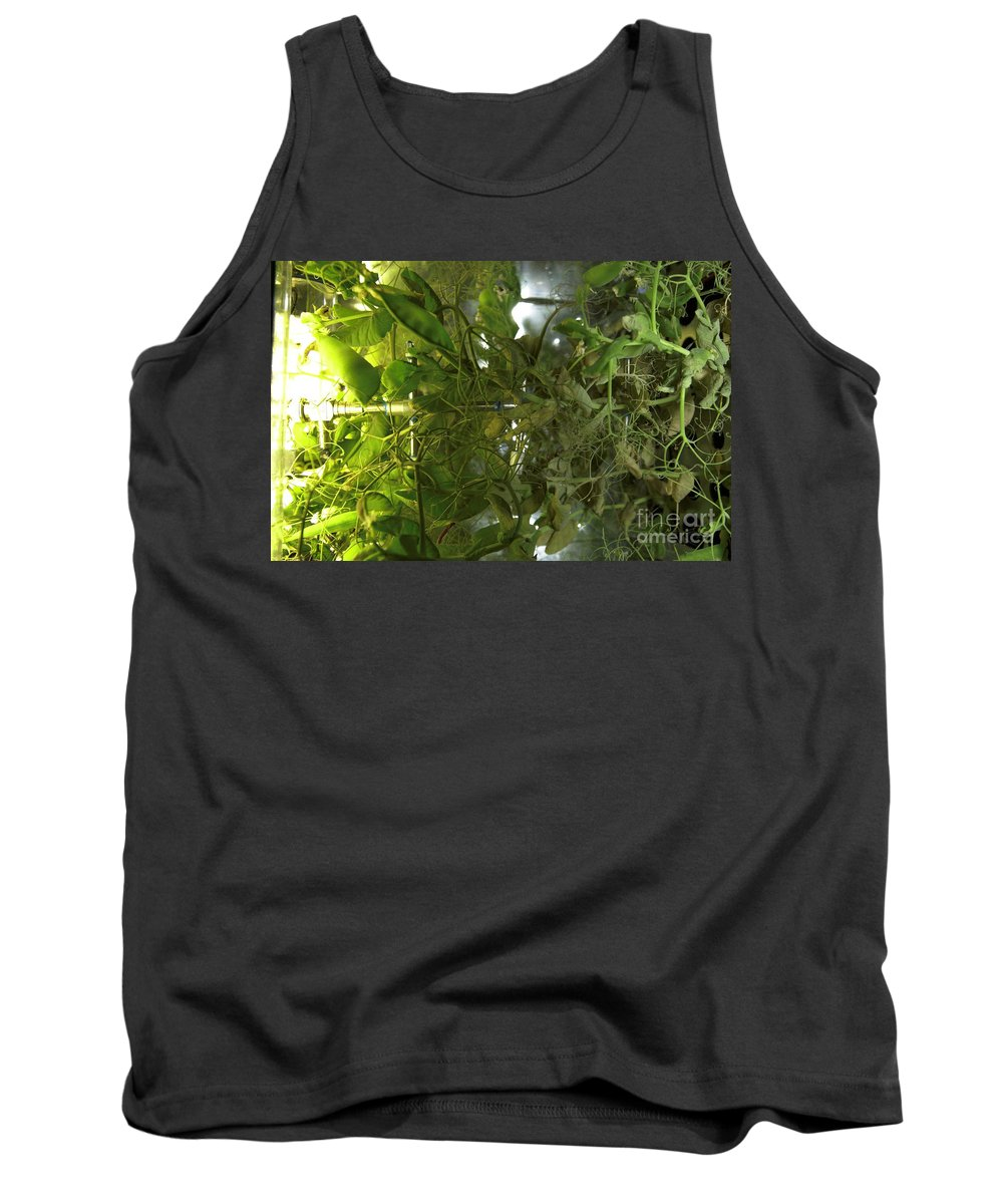 Agricultural Research Tank Top featuring the photograph Plant Growth Experiment, Iss by Nasa