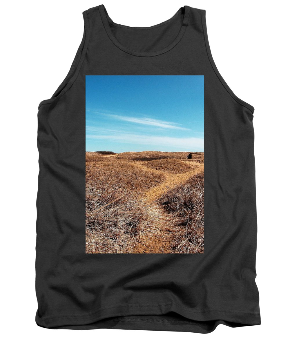 Plum Island Tank Top featuring the photograph Plum Island by Jeff Heimlich