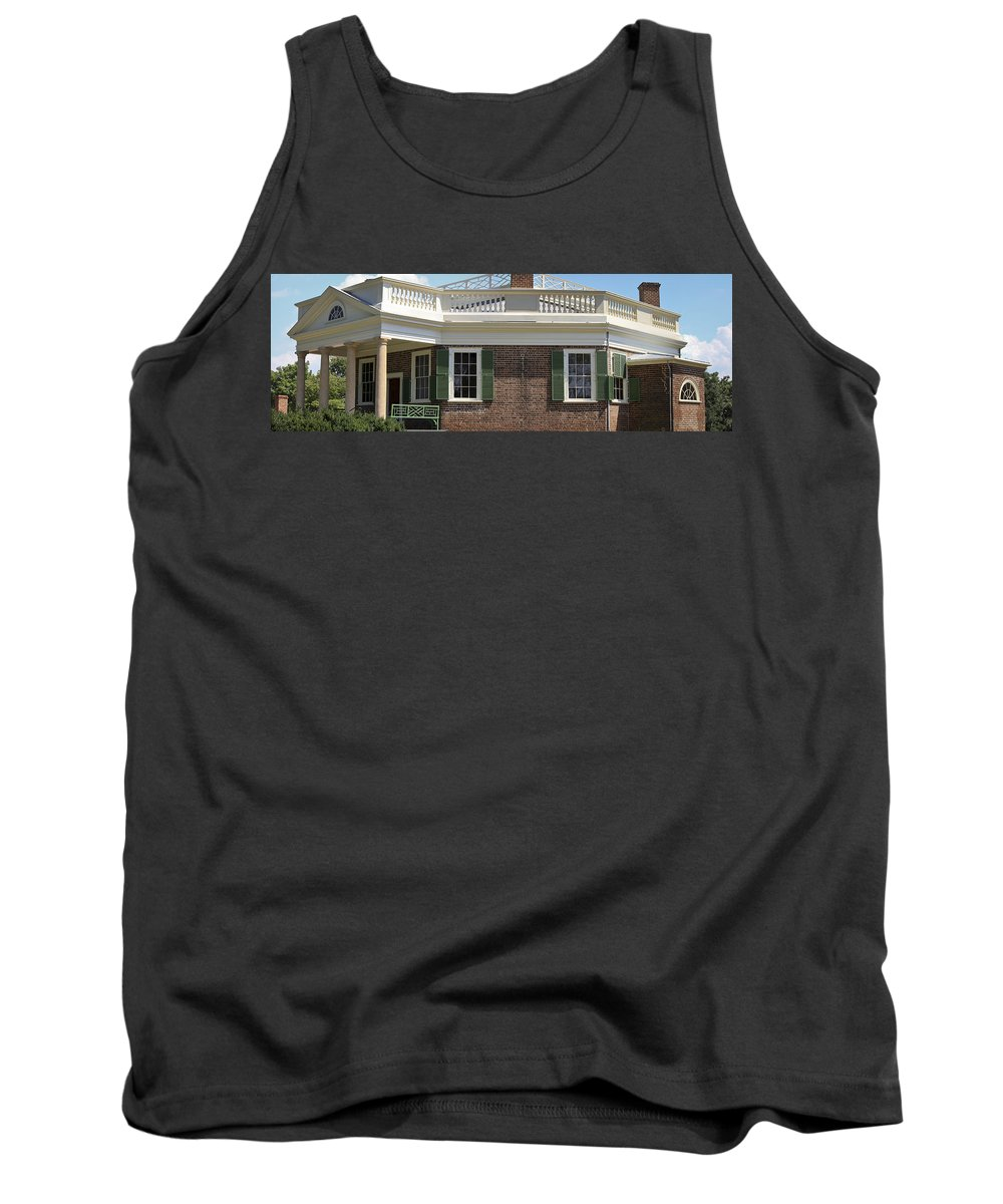 Poplar Forest Tank Top featuring the photograph Poplar Forest by Teresa Mucha