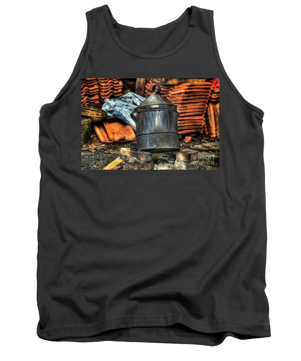 Pot Tank Top featuring the photograph Pot by Charuhas Images