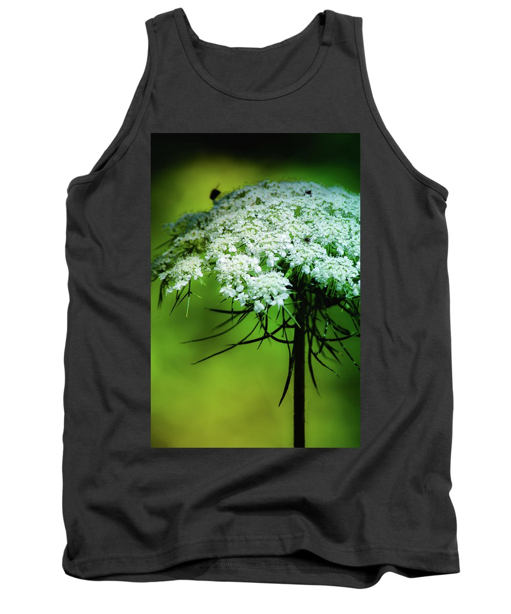Flower Petals Tank Top featuring the photograph Queen Anne by Sarah Wiggins