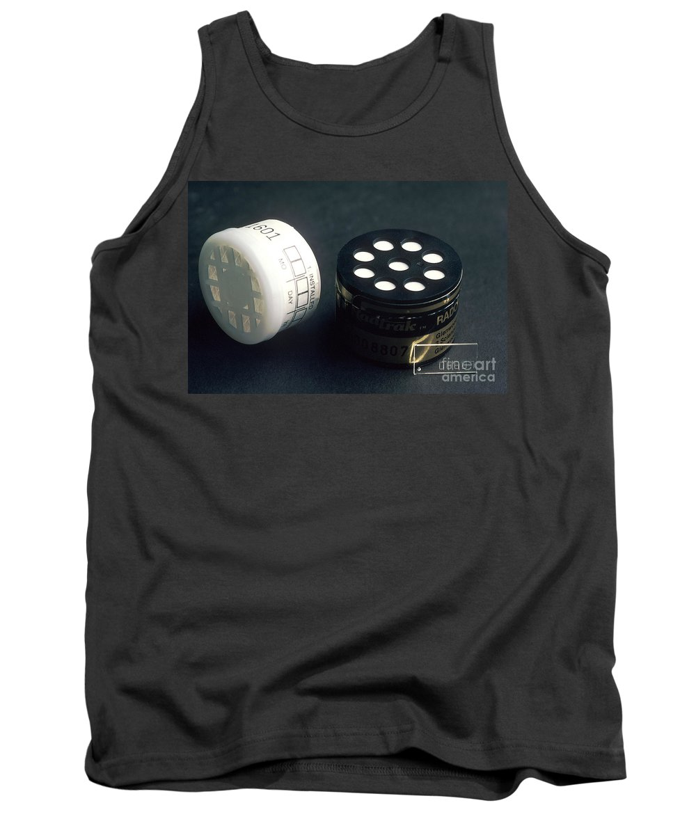 Radon Tank Top featuring the photograph Radon Test Kit by Science Source