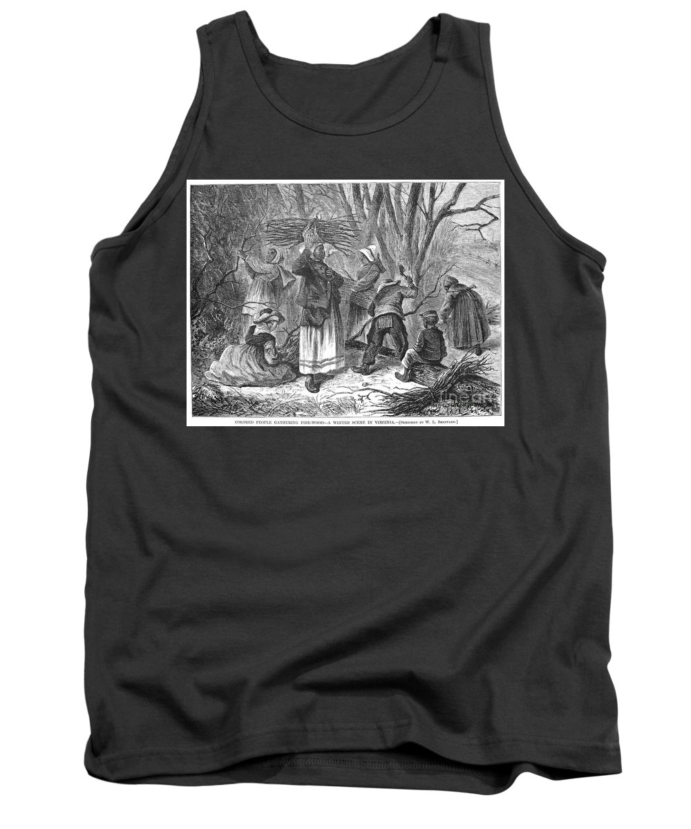 1868 Tank Top featuring the photograph Reconstruction, 1868 by Granger
