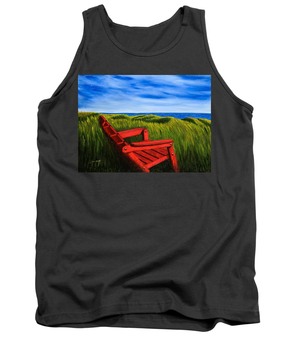 Art Tank Top featuring the painting Relax by Mauro Celotti